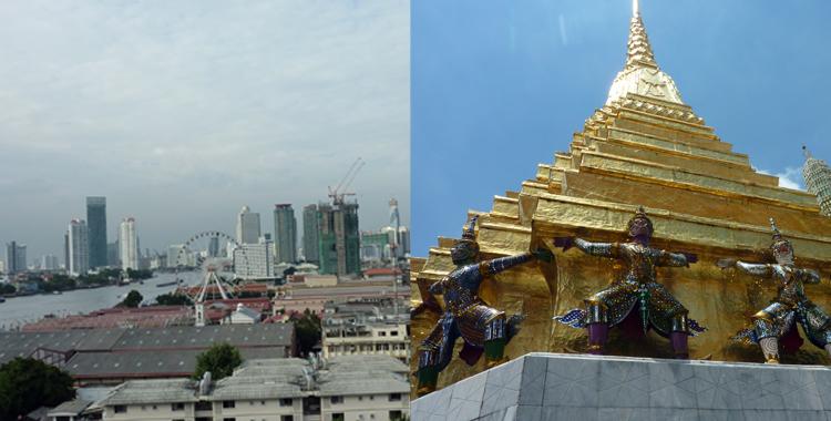 Bangkok - Buildings & Buddhas